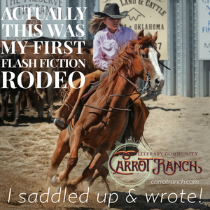 My entry in to the Carrot Ranch #7 contest