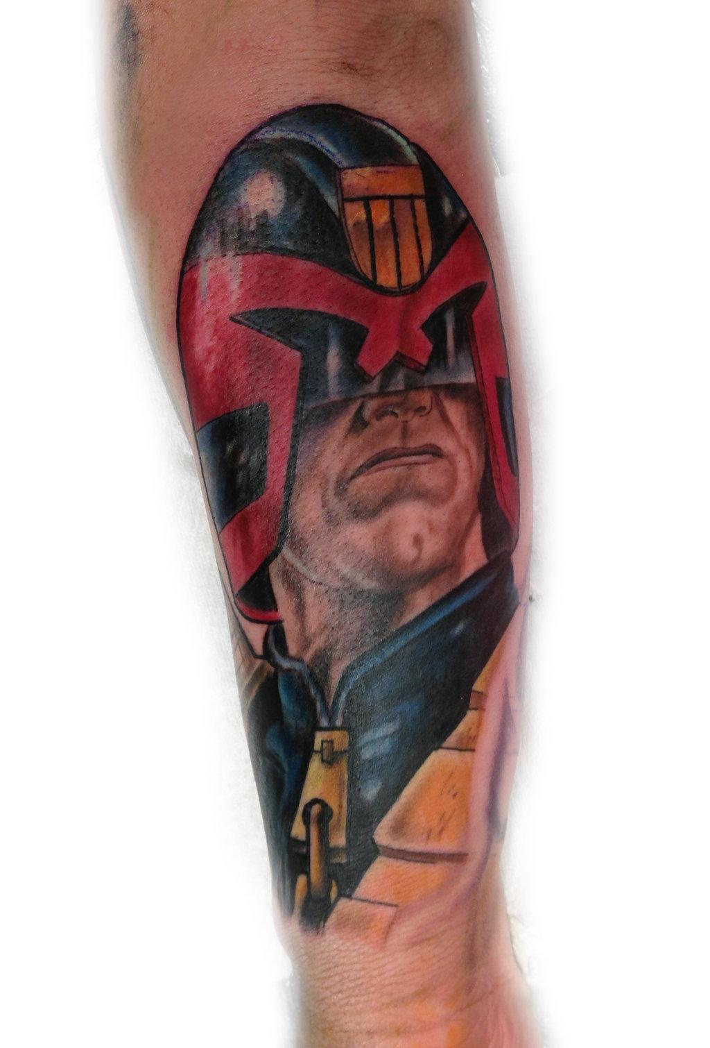 My Dredd Tattoo