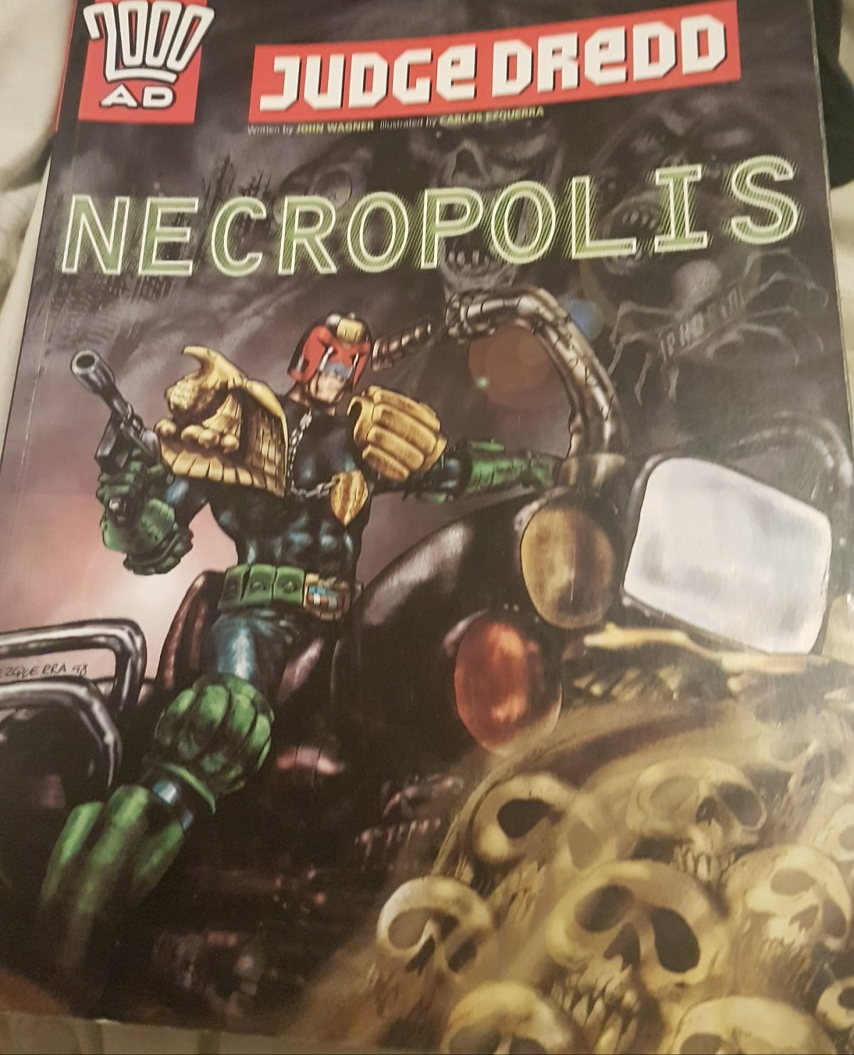 NECROPOLIS – 2000AD Progs 674-699