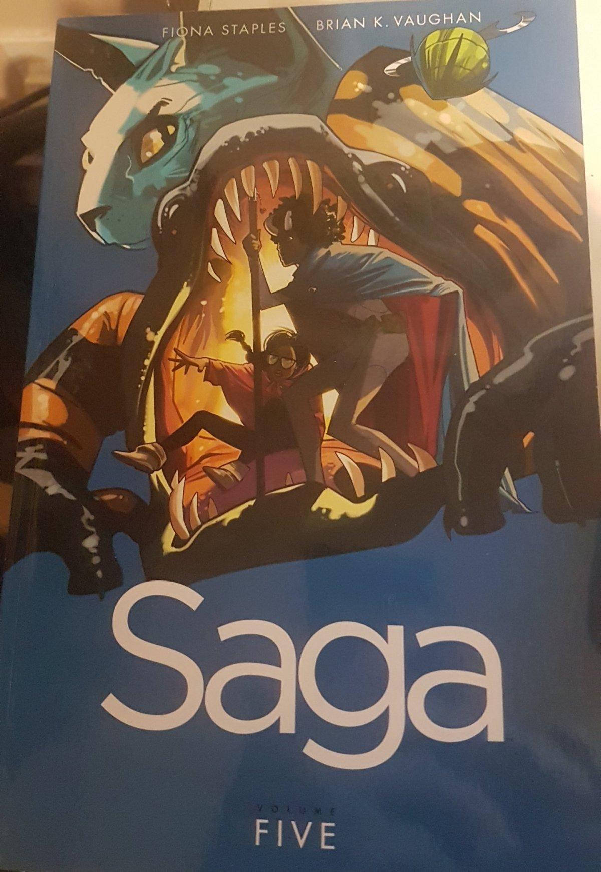 Saga.  This ones forSimon