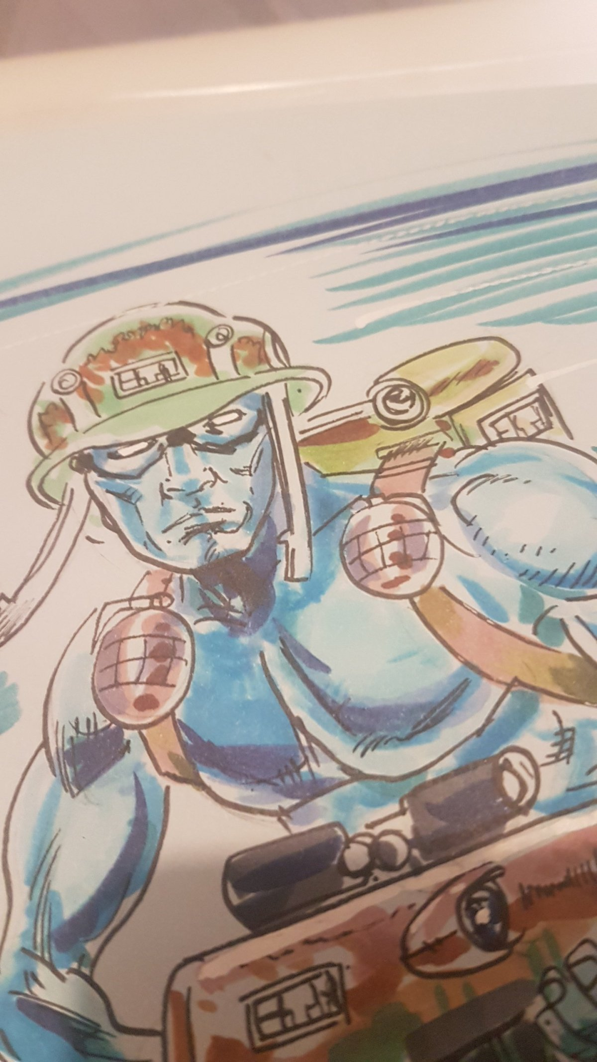 2000AD ART – Rogue Trooper – Mike Collins