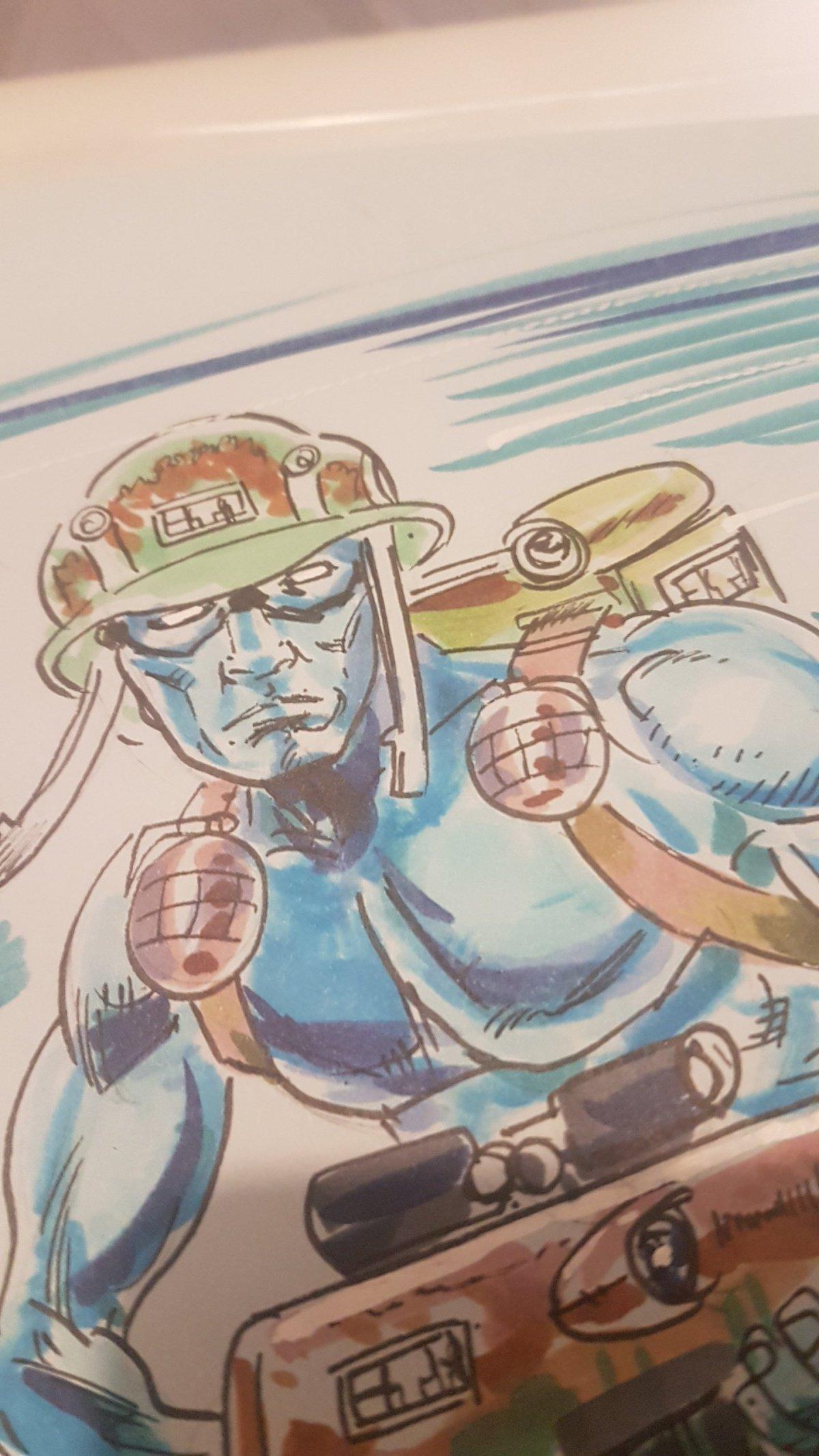 2000AD ART – Rogue Trooper – MikeCollins