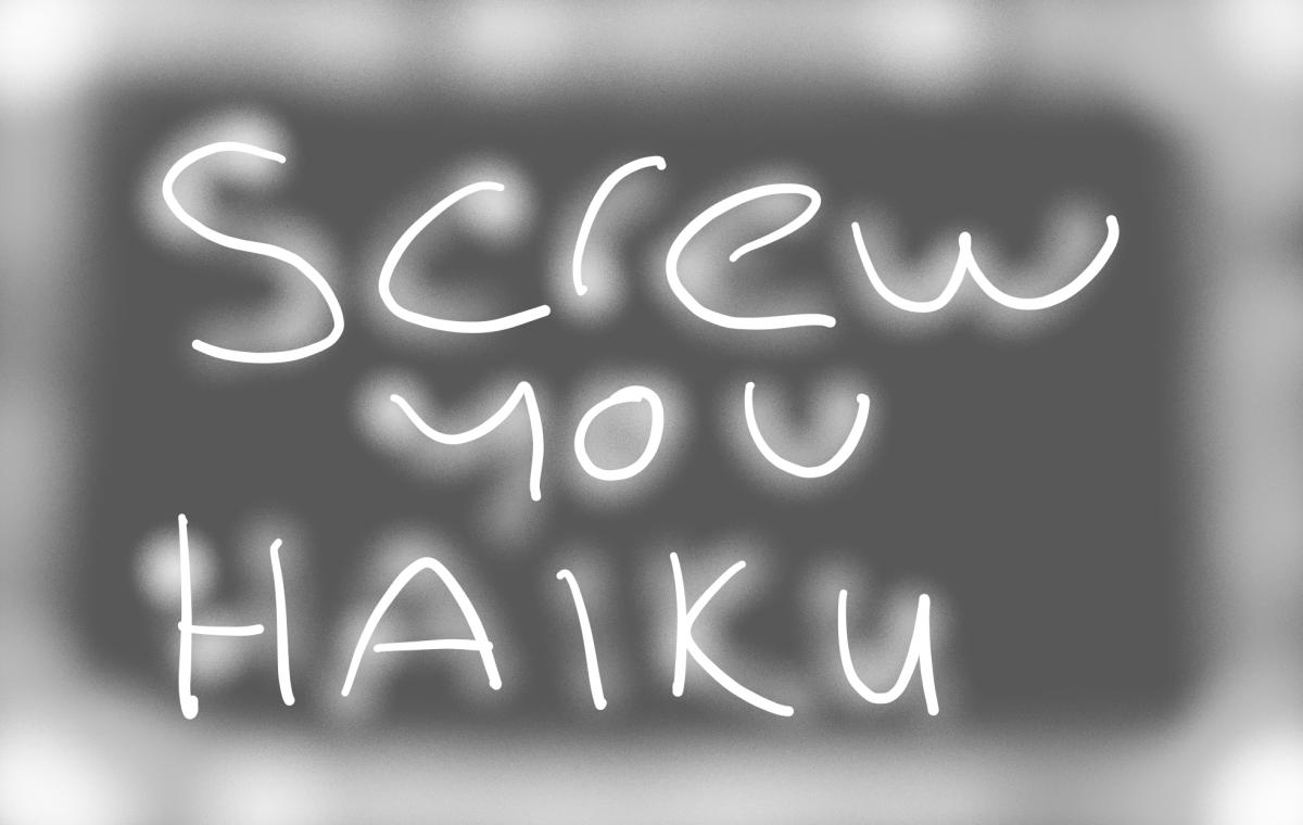 God will the haiku neverstop